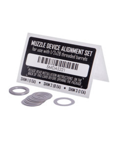 PWS Muzzle Device Shim Kit